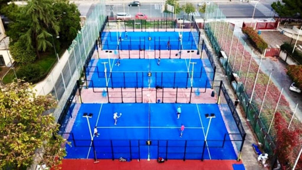 conversione campi tennis in padel